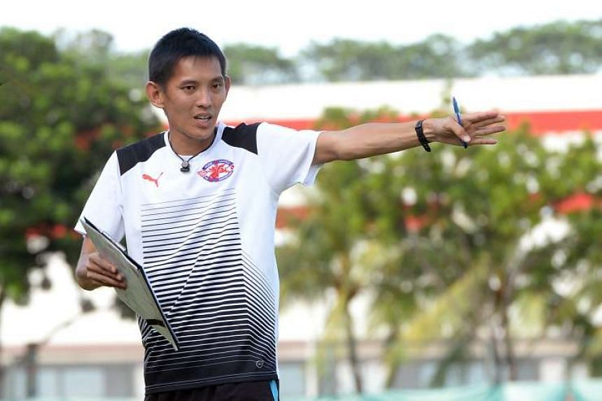Aw took over as first team coach last season and guided Home United to the Singapore Cup final.
