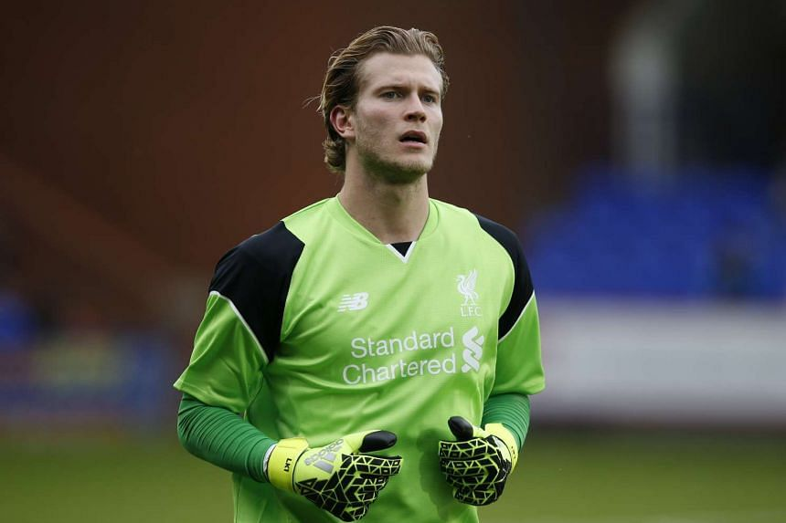 Karius (above) joined the Reds for 4.7 million pounds (S$8.3 million) from Mainz in May.