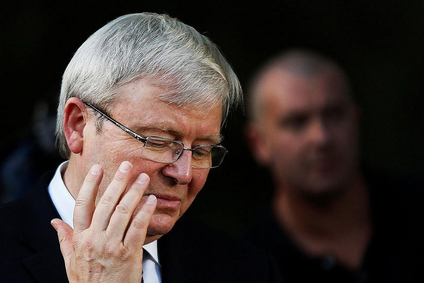 Mr Rudd, a Mandarin-speaking former diplomat, has been quietly lobbying world leaders for support to succeed Mr Ban as UN secretary-general. But he has had run-ins with former Cabinet colleagues and Labor MPs.