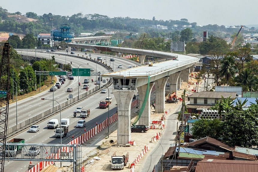 Malaysia's RM22 billion (S$7.3 billion) MRT system - 10 years in the making - will start trial runs in October, Bernama news agency says. The first phase will link downtown Kuala Lumpur and the townships of Sungai Buloh and Kajang. The line's three-m