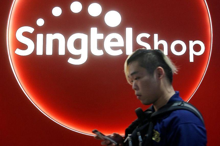 Singtel's market value has risen 1.2 per cent since June 30 to $66.6 billion.