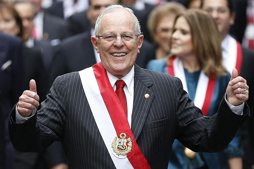 Mr Kuczynski is a former Wall Street banker and a centre-right economist with an impressive resume. He was educated at Oxford University and Princeton, and has had stints as economy minister and a World Bank economist.