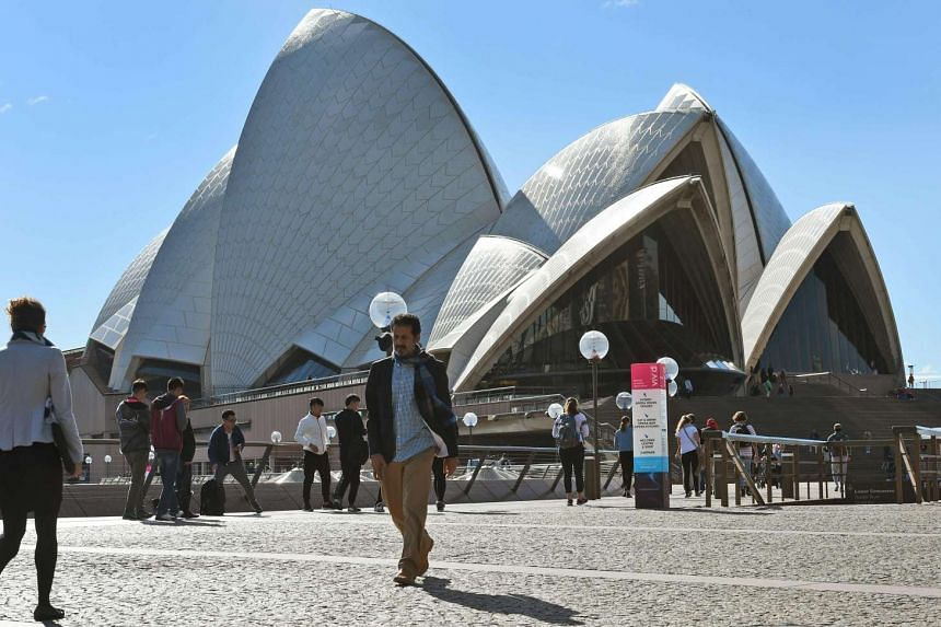 Australia currently moves north by about seven centimetres each year due to normal tectonic motion.