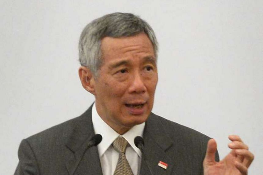 Prime Minister Lee Hsien Loong has said that he is saddened to hear about former president S R Nathan's condition.