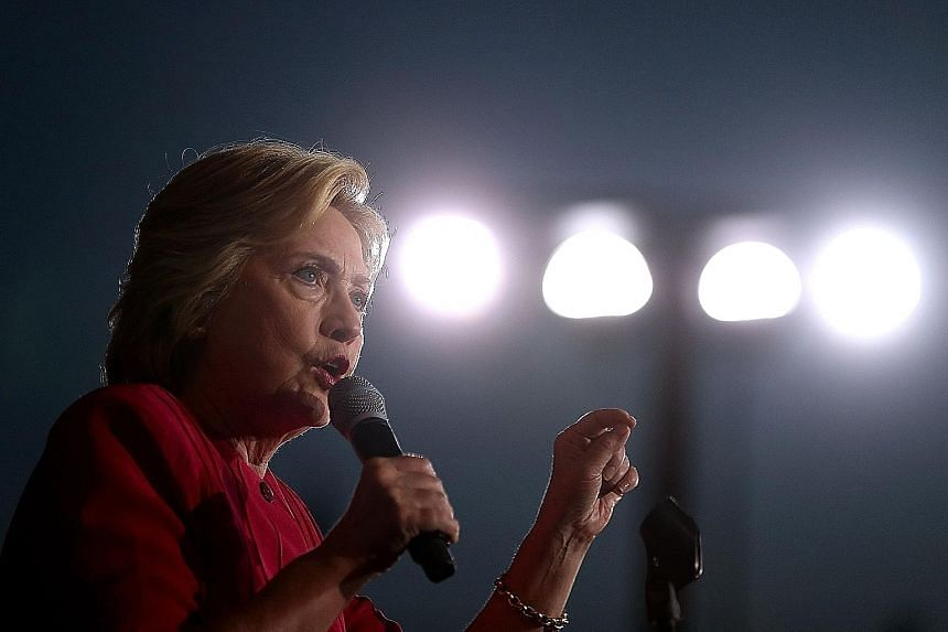 Mrs Clinton's campaign used the program that was hacked to analyse voter data, but it did not contain voters' Social Security numbers or credit card information, said a campaign aide.