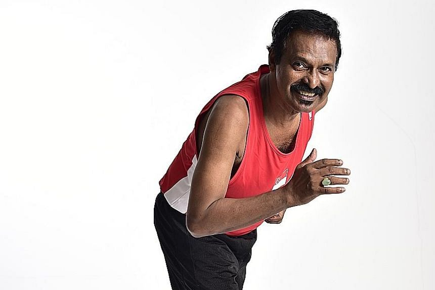 At the 1972 Olympics, P.C. Suppiah clocked 31min 59.2sec in the 10,000m race, breaking his own national record.