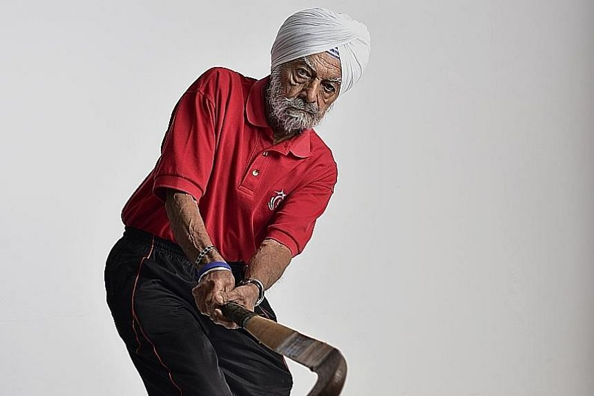 Ajit Singh Gill, 88, was 28 when he represented Singapore in hockey at the Melbourne Games. A fete and funfair was held to raise funds for the trip.