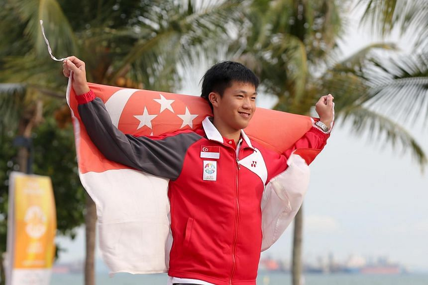 Youth Olympic Games gold medallist Bernie Chin finished third in the boys' class at the Laser Radial World Championships in Ireland.