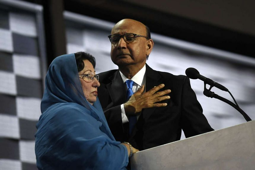 """Khizr Khan's son, Humayun Khan, was an American Muslim Army soldier who died serving the US after 9/11. Khizr spoke at the Democratic National Convention and offered a strong rebuke of Donald Trump, saying: """"Have you even read the United States Const"""