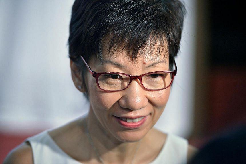 Minister for Culture, Community and Youth Grace Fu.
