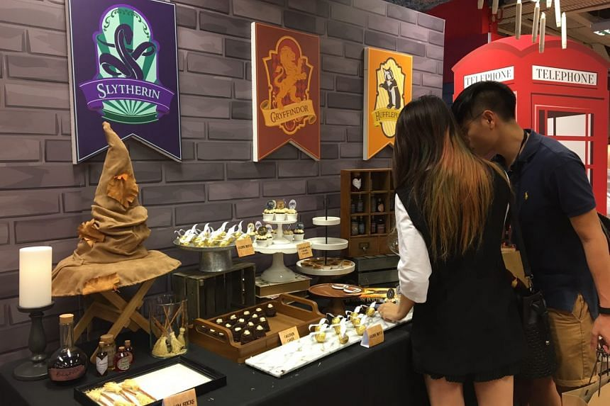 The Harry Potter themed food at the launch party of Harry Potter and The Cursed Child at Popular, Bras Basah on July 31.