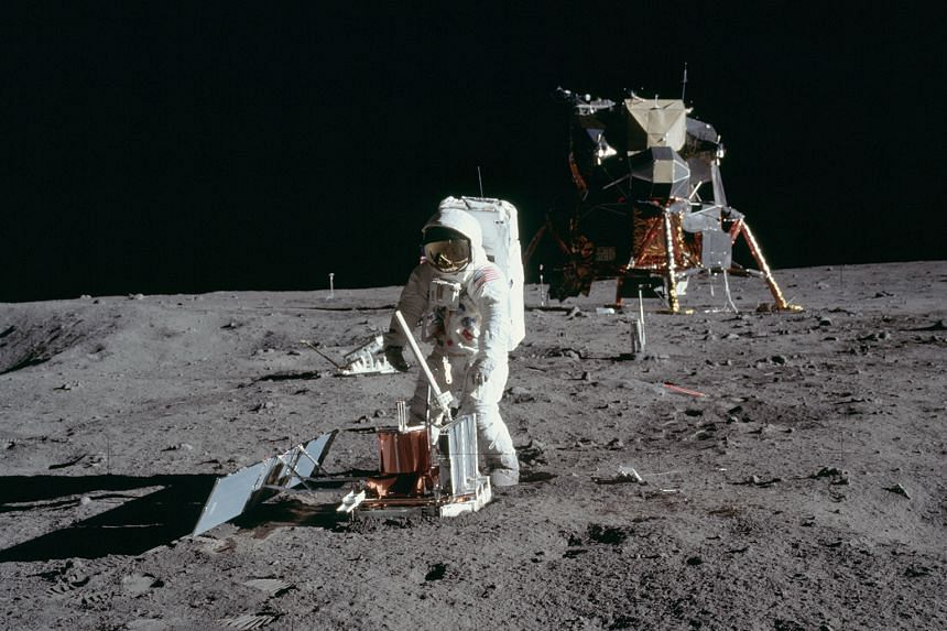 Astronauts on the Apollo missions to the moon could have been exposed to deep space radiation, says a professor in Florida.