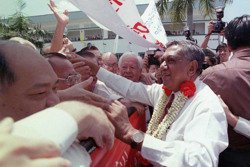 Mr S R Nathan was first elected unopposed to the presidency in August 1999. Six years later, he was again elected as Singapore's President uncontested.