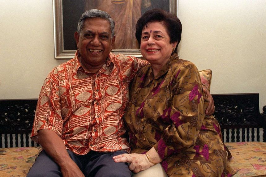 """""""We've been together 57 years so the feeling must be good,"""" says Mrs Nathan. It was during the war that Mr Nathan met and fell in love with his wife, Urmila."""