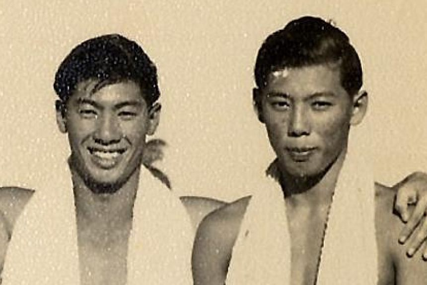 Tan Eng Liang and Tan Eng Bock (water polo – right and left).