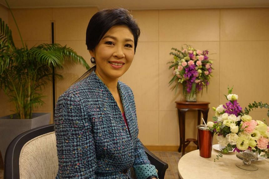 Former Thai Prime Minister Yingluck Shinawatra rejected a draft constitution sponsored by the generals who toppled her government two years ago.