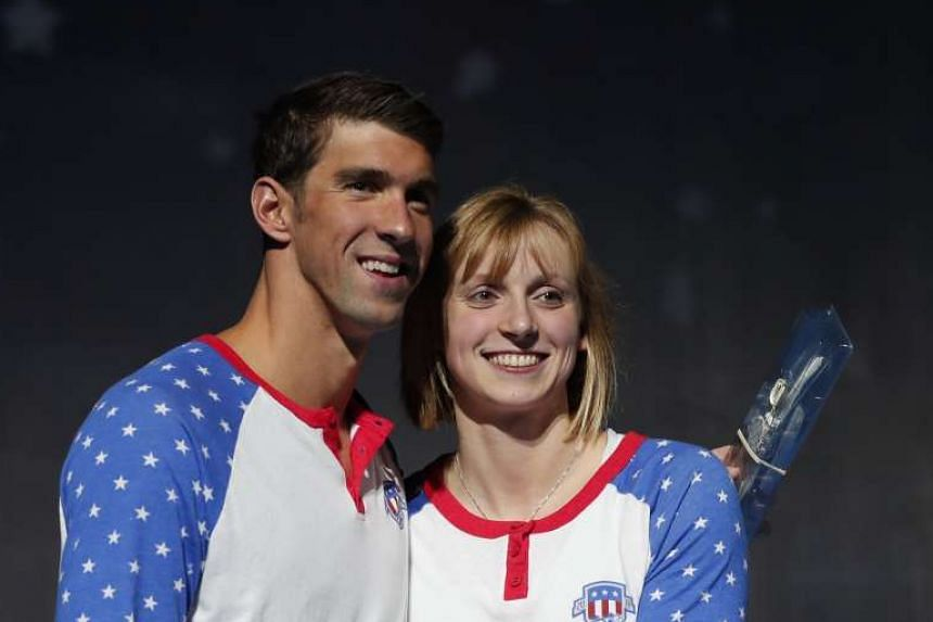 Michael Phelps and Katie Ledecky will both feature in the United States 4 x 100 metres freestyle relay teams at the Rio Olympics.