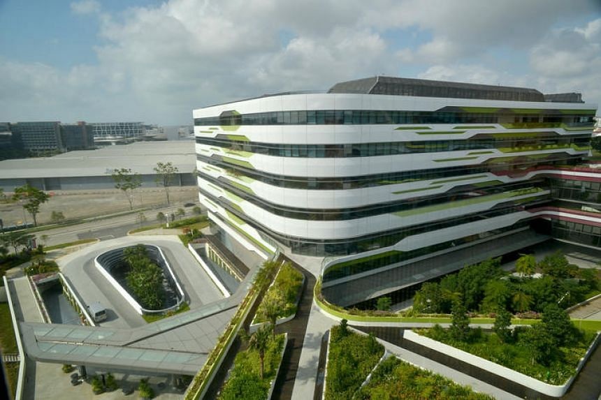 The Singapore University of Technology and Design campus.