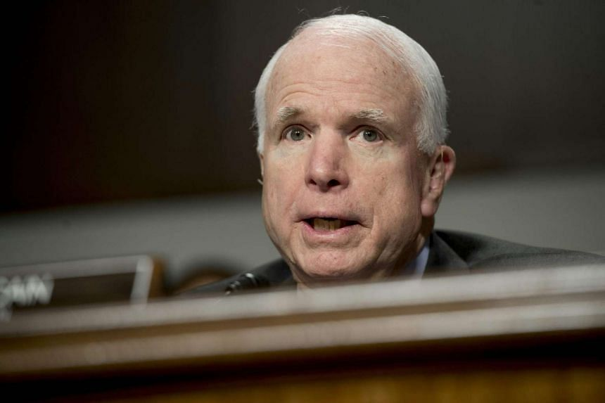 Republican Senator John McCain slammed Donald Trump on Monday for disparaging the Muslim family of a slain American soldier, and demanded that his party's presidential candidate set an example for the country.