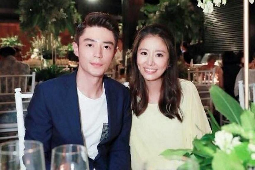 Ruby Lin and Wallace Huo's pre-wedding party in Bali on July 30, 2016.