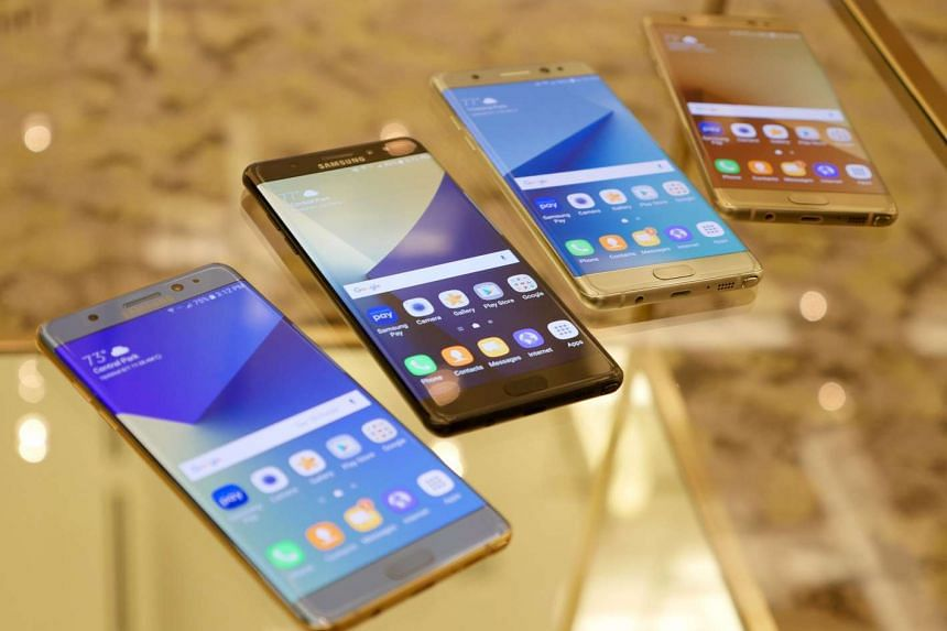 The Samsung Galaxy Note7 will be available in colours of blue, black, silver and gold. However, the blue version will not be available in Singapore.