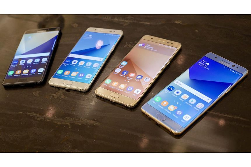 The Samsung Galaxy Note7 will be available in colours of black, silver, gold and blue. However, the blue version will not be available in Singapore.