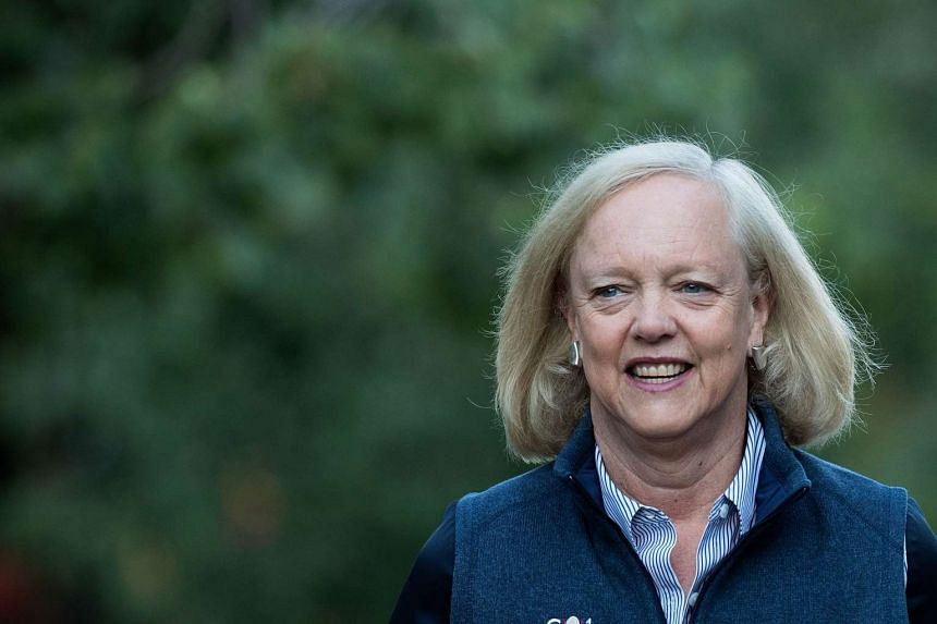 Meg Whitman (above) has said that she will back Democrat Hillary Clinton for president.