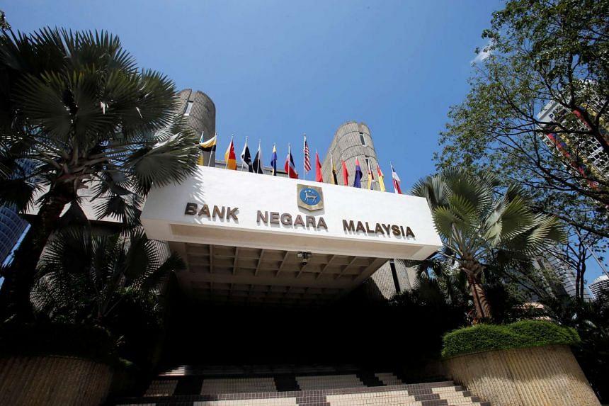 The headquarters of Malaysia's central bank, Bank Negara Malaysia, in Kuala Lumpur.