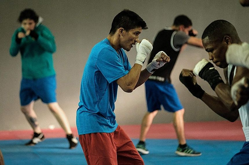 Olympic competitors from various countries training in Rio. While boxing has produced controversial results at the Games, the world body maintains that major governance changes were introduced last year.