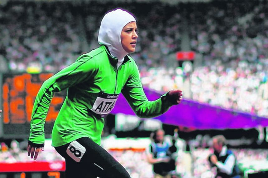 Sarah al-Attar ran the 800m at the 2012 Games but will take on the marathon in Rio.