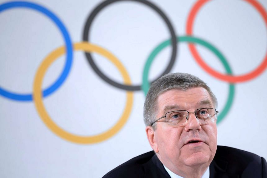 Bach (above) said the uncovering of Russia's widespread doping had shown up deficiencies in the system.