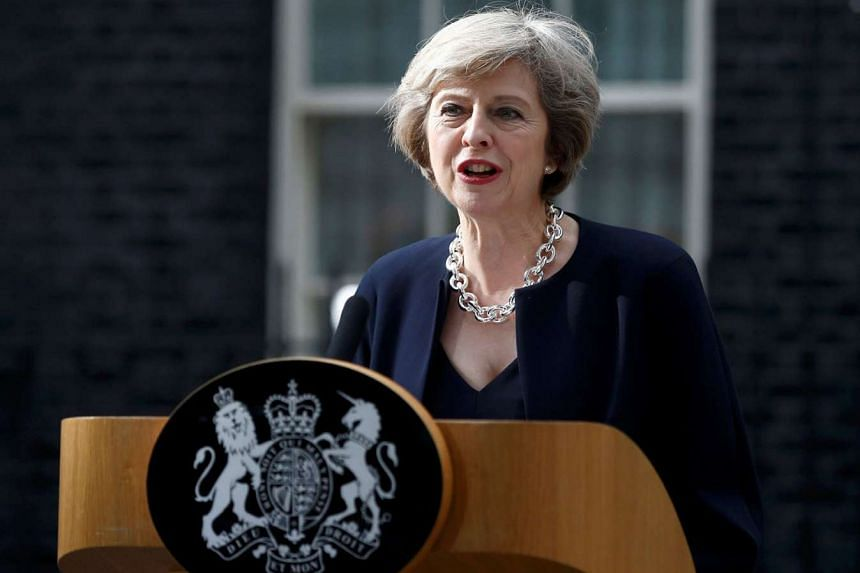 British PM Theresa May's vision for a state-boosted industrial renaissance will involve rebalancing the economy away from the services sector.