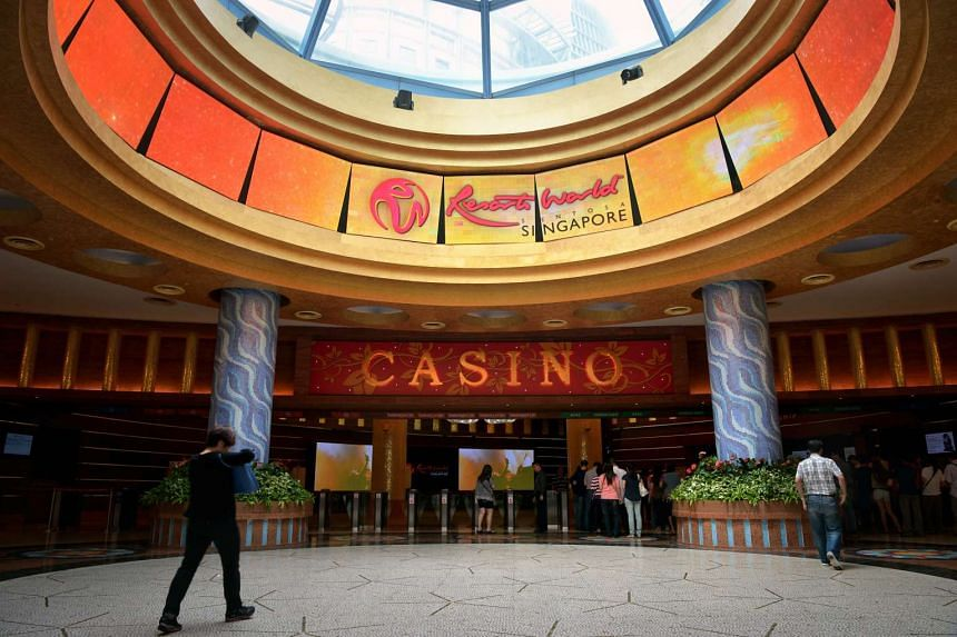 Casino operator Genting Singapore reported that second quarter revenue fell 17 per cent to S$480.9 million.