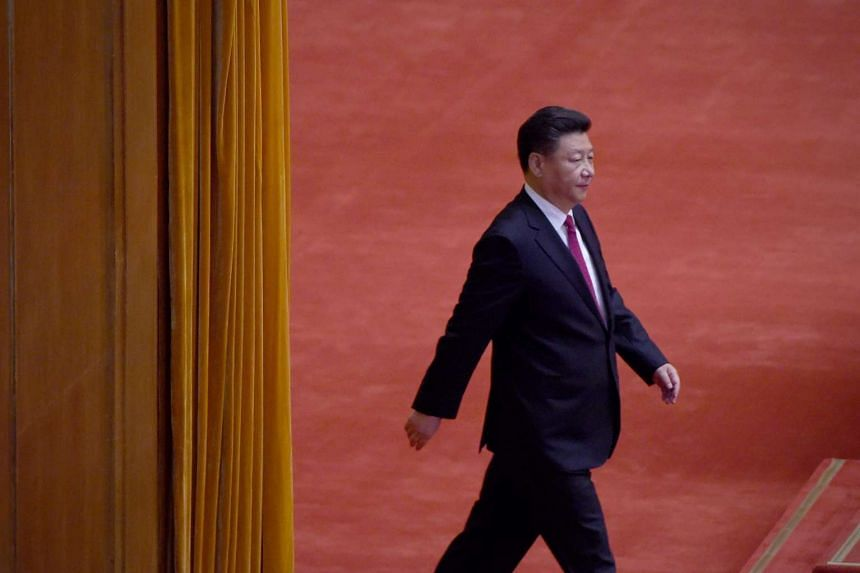 Chinese President Xi Jinping attends the celebration ceremony of the 95th Anniversary of the Founding of the Communist Party of China at the Great Hall of the People in Beijing on July 1, 2016.