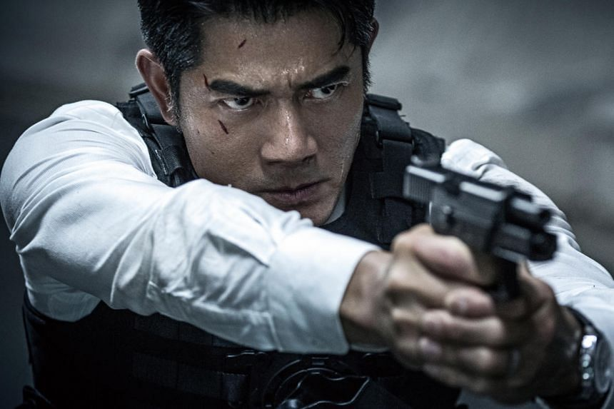 Cold War 2 starring Aaron Kwok.