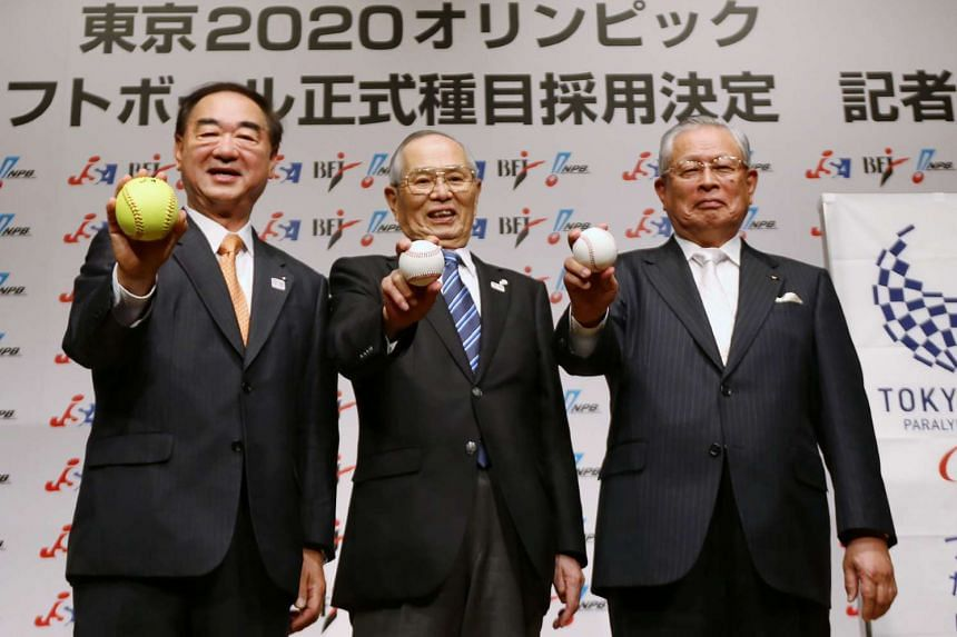 Japan celebrates the return of baseball as an Olympic sport for the 2020 Tokyo Games.