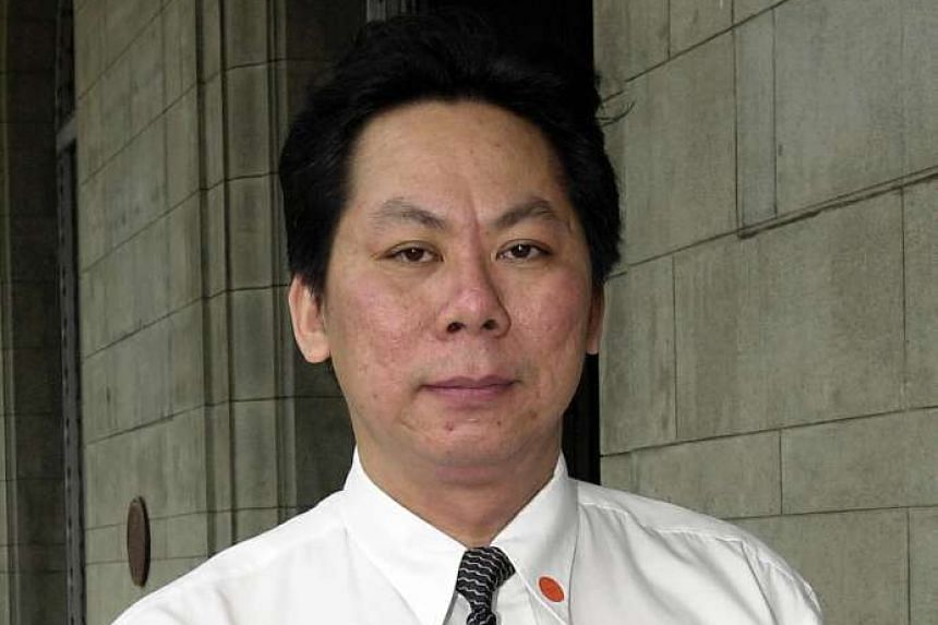 District Judge Shawn Ho said Mr Edmund Wong Sin Yee's (above) conduct was completely unacceptable, deserving of disapprobation and fell short of expectations of lawyers.