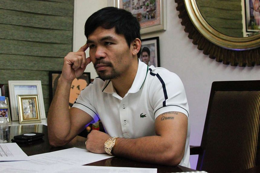 Manny Pacquiao is set return to the ring this year to fight World Boxing Organisation welterweight champion Jessie Vargas.