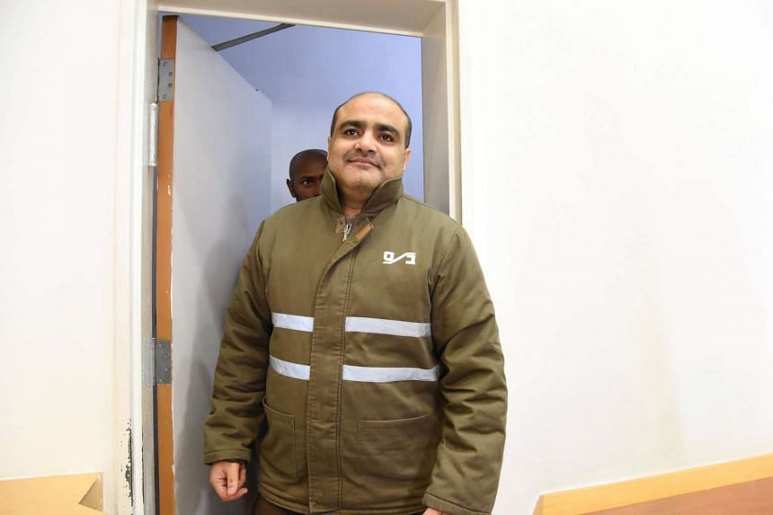 Mohammad El Halabi before a hearing at the Beersheba district court in southern Israel, on Aug 4, 2016.