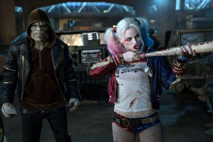 A still from the movie Suicide Squad.