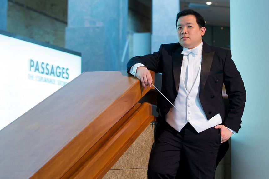 (Above) Adrian Chiang is one of the guest conductors.