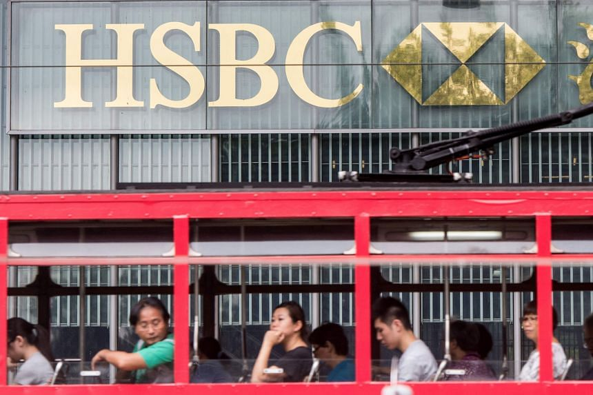 HSBC, based in London and Hong Kong (above), has slashed more than 87,000 jobs, exited at least 80 businesses and reduced its vast global footprint.