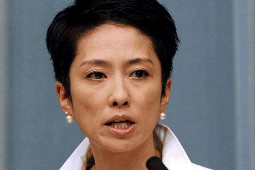 Renho will run for the leadership of Japan's main opposition Democratic Party.