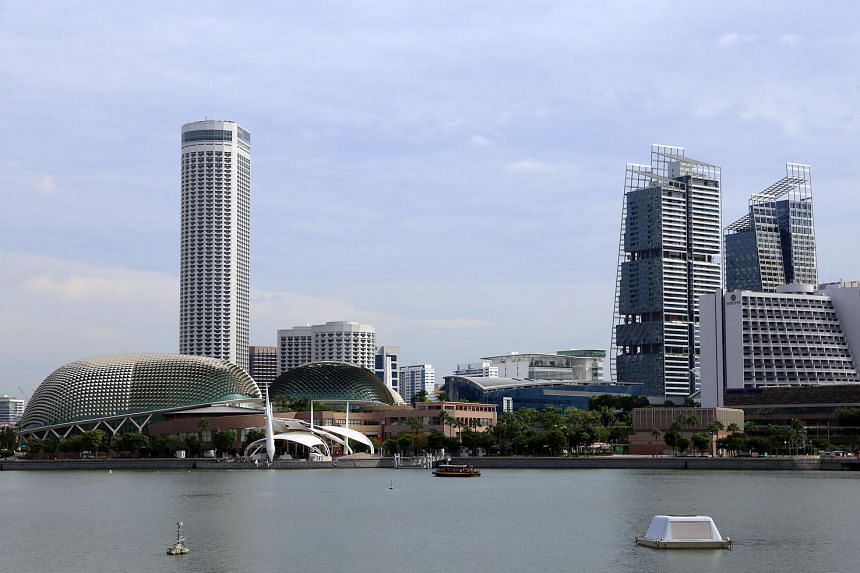 A view of Marina Bay in Singapore.