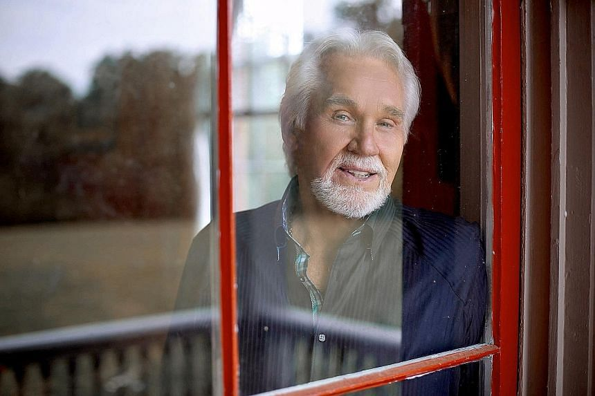 Country musician Kenny Rogers, 77, has enjoyed a squeaky-clean image throughout his career.