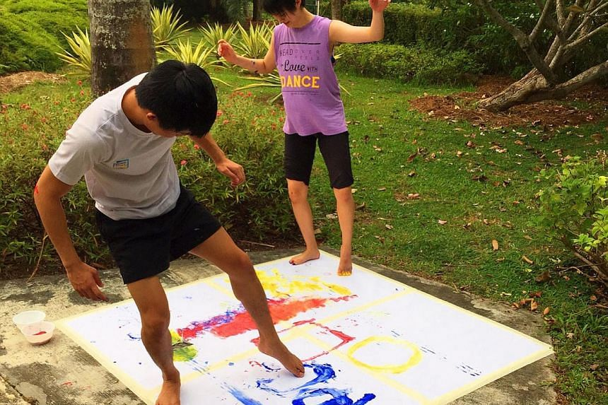 Let's Lepak At Mount Faber will include activities such as dance painting, where participants create art using their bodies.