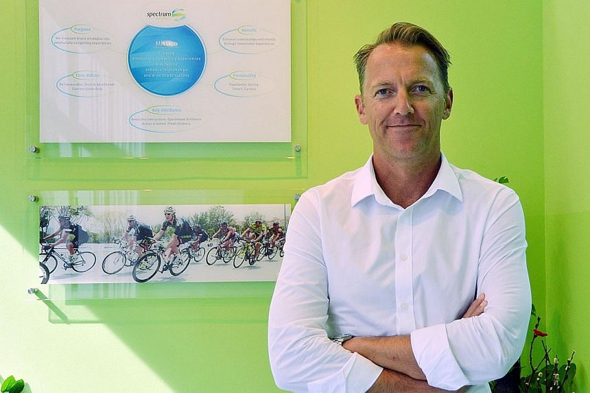 Ironman Asia managing director Geoff Meyer hopes to eventually bring in international- level triathlon or Ironman events to Singapore in the future.