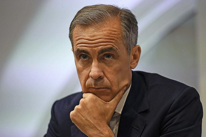 "Bank of England governor Mark Carney said that since the Brexit vote, ""indicators have all fallen sharply, in most cases to levels last seen in the financial crisis and, in some cases, to all-time lows""."
