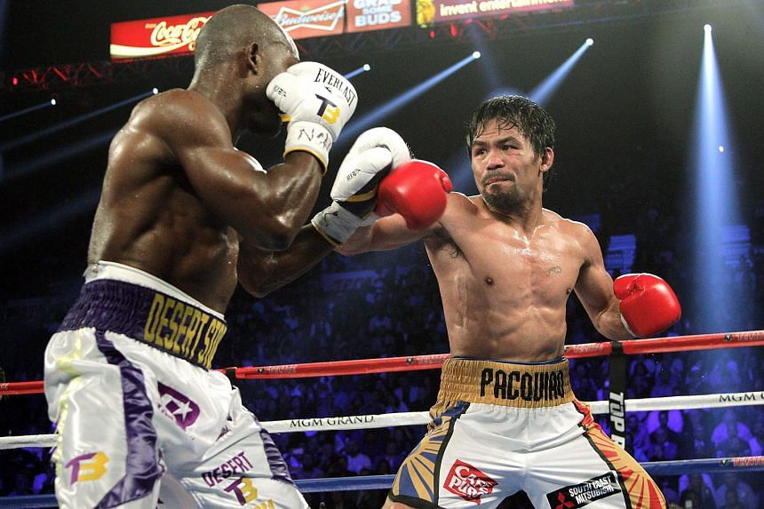 Manny Pacquaio facing off against Timothy Bradley Jr. on April 9. He is due to fight American Jessie Vargas on Nov 5.