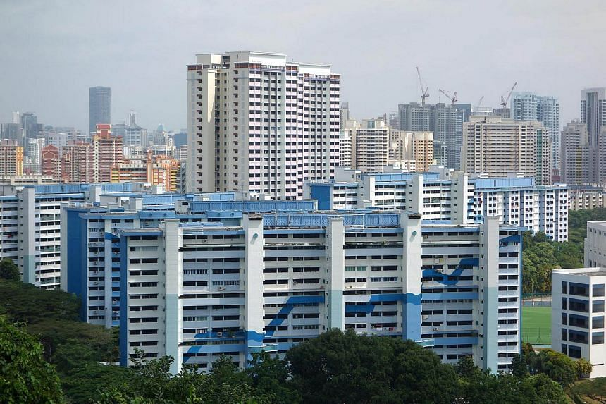 HDB prices rose by a marginal 0.7 per cent last month, a reversal of June's 0.6 per cent fall.